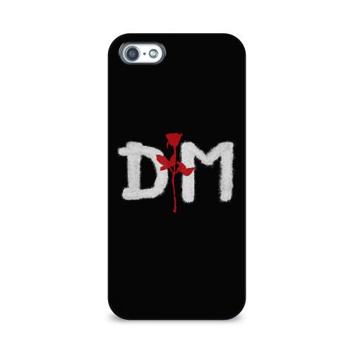 Чехол для Apple iPhone 5/5S 3D  Фото 01, Depeche mode