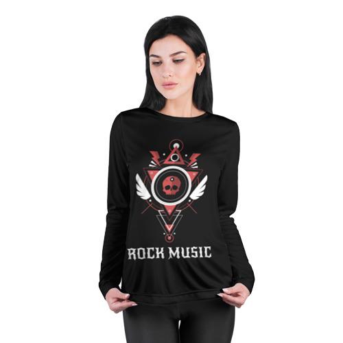 Женский лонгслив 3D для беременных  Фото 04, Rock Music