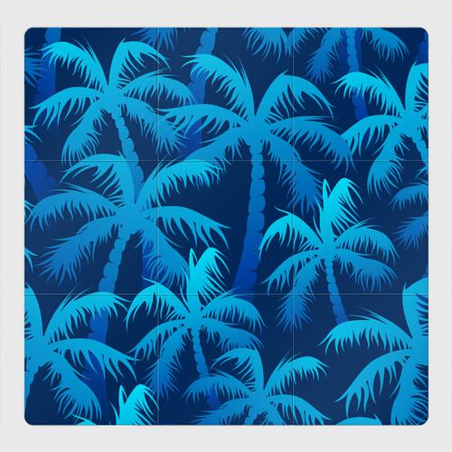 Магнитный плакат 3Х3 Пальмы