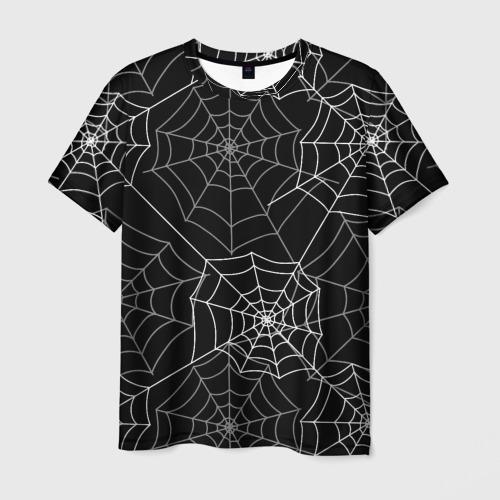Мужская футболка 3D  Фото 01, Паутинка