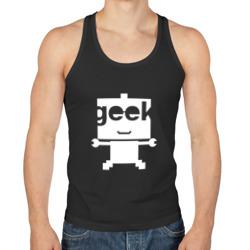 Робот geek (компьютерщик)