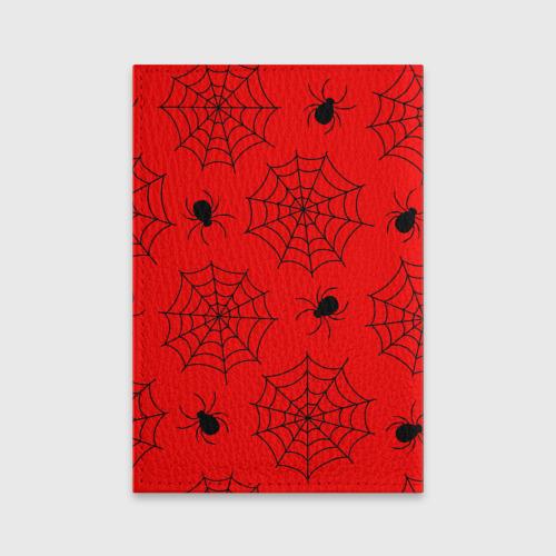 Обложка для паспорта матовая кожа Happy Halloween Фото 01