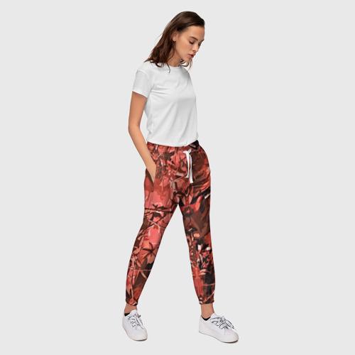 Женские брюки 3D  Фото 03, camouflage texture