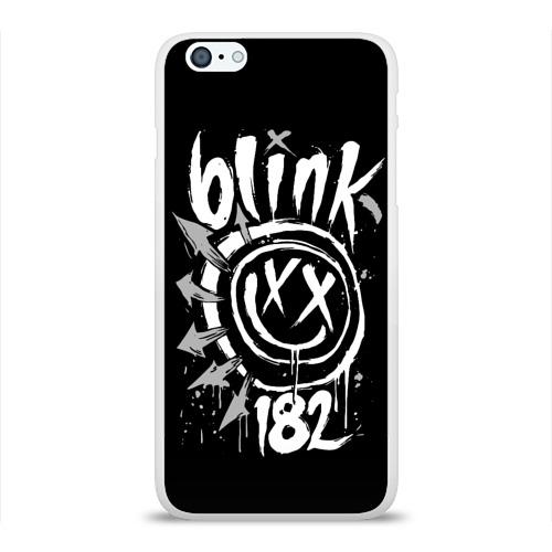 Чехол для Apple iPhone 6Plus/6SPlus силиконовый глянцевый  Фото 01, Blink-182