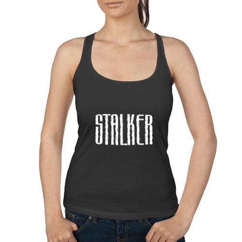 Женская майка борцовка  Фото 01, Stalker