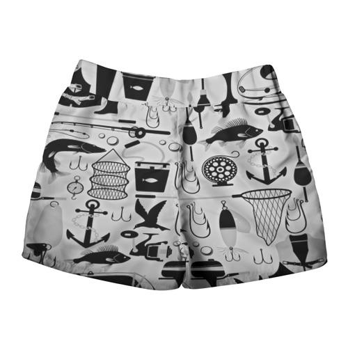 Женские шорты 3D  Фото 02, Рыбак
