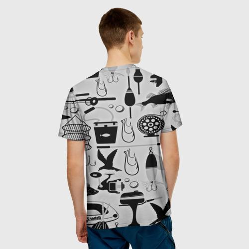 Мужская футболка 3D  Фото 02, Рыбак