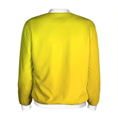 Мужской бомбер 3D  Фото 02, Just Banana (Yellow)