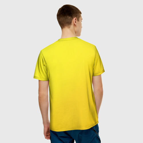Мужская футболка 3D  Фото 02, Just Banana (Yellow)