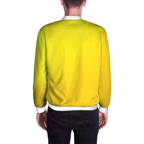 Мужской бомбер 3D  Фото 04, Just Banana (Yellow)