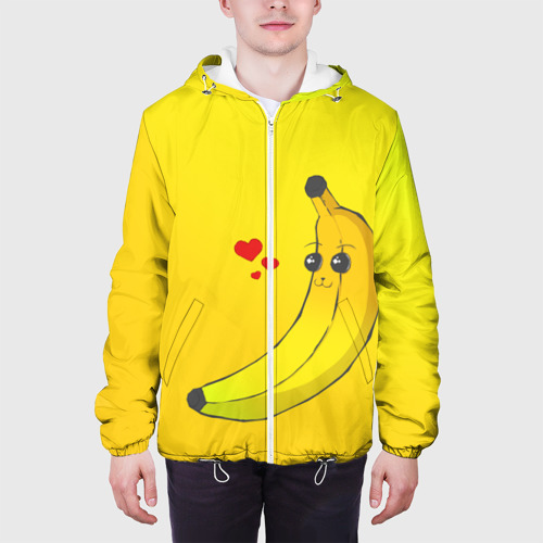 Мужская куртка 3D  Фото 04, Just Banana (Yellow)