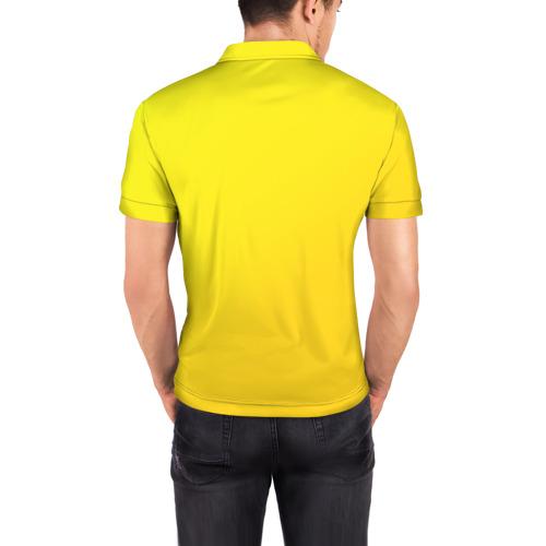 Мужская рубашка поло 3D  Фото 04, Just Banana (Yellow)