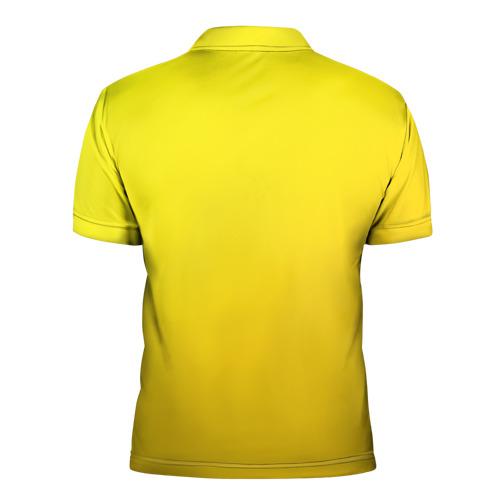 Мужская рубашка поло 3D  Фото 02, Just Banana (Yellow)