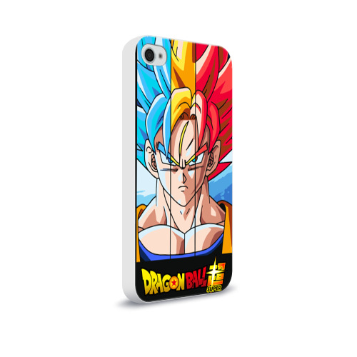 Чехол для Apple iPhone 4/4S soft-touch  Фото 02, Dragon Ball