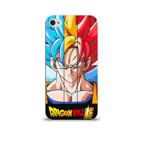 Чехол для Apple iPhone 4/4S soft-touch  Фото 01, Dragon Ball
