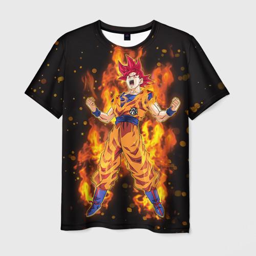Мужская футболка 3D  Фото 01, Dragon Ball