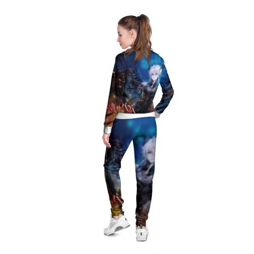 Женская олимпийка 3D  Фото 04, Ярость Бахамута