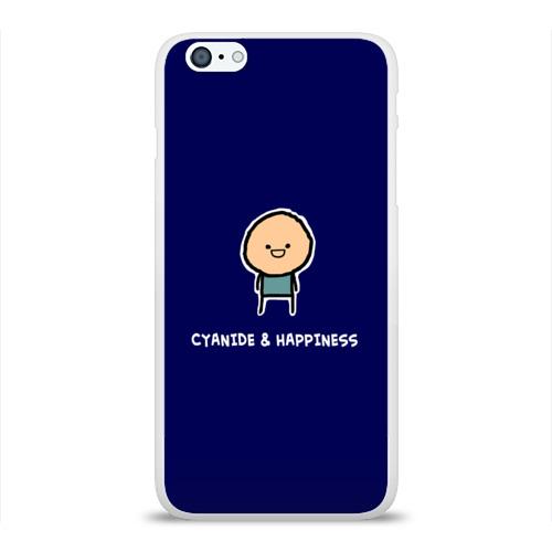 Чехол для Apple iPhone 6Plus/6SPlus силиконовый глянцевый  Фото 01, Cyanide & Happiness