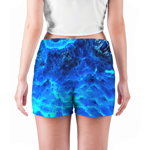 Женские шорты 3D  Фото 04, Frozen fractal