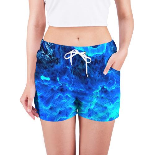Женские шорты 3D  Фото 03, Frozen fractal