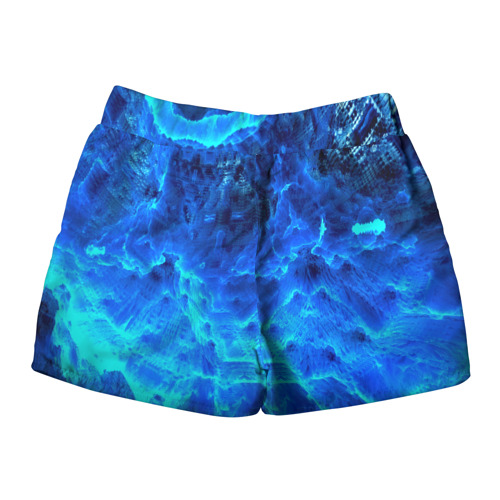 Женские шорты 3D  Фото 02, Frozen fractal