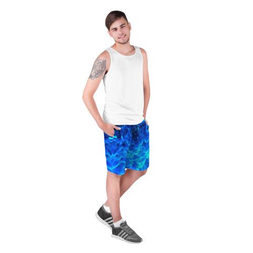 Мужские шорты 3D  Фото 03, Frozen fractal