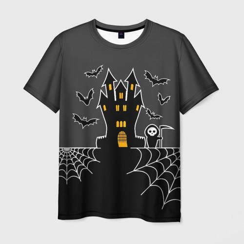 Мужская футболка 3D  Фото 03, Halloween