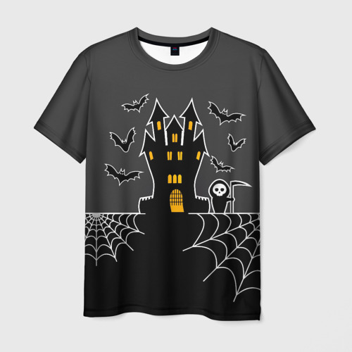 Мужская футболка 3D  Фото 01, Halloween