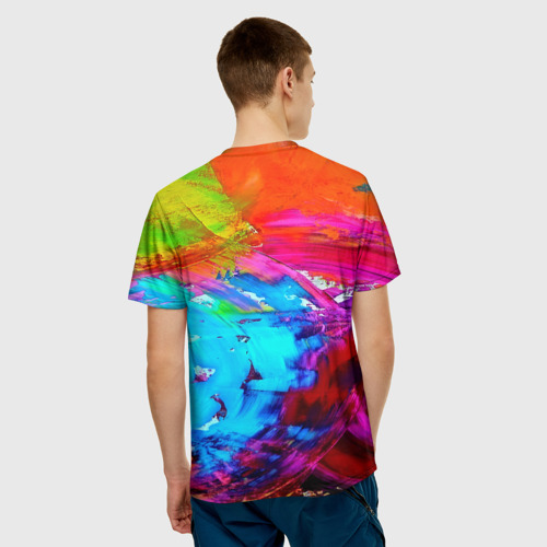 Мужская футболка 3D  Фото 02, Tie-dye