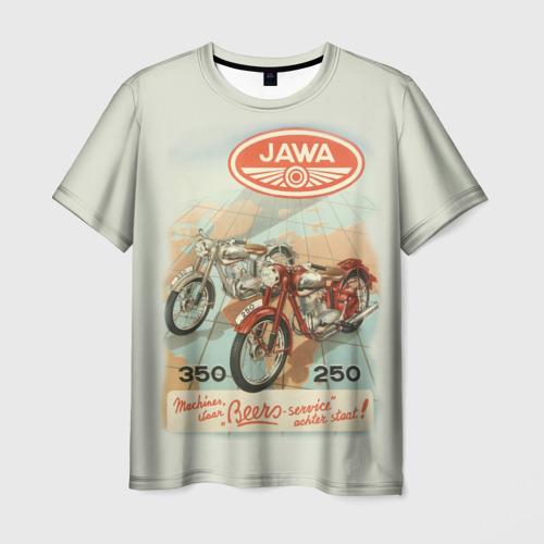 Мужская футболка 3D  Фото 01, JAWA