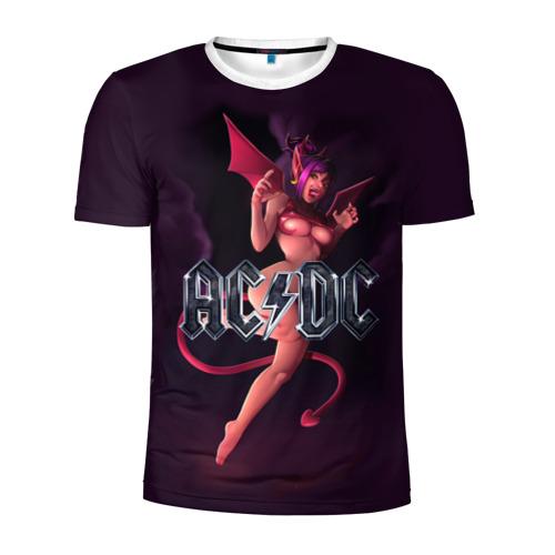 Мужская футболка 3D спортивная AC/DC