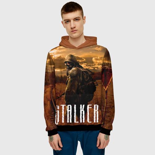 Мужская толстовка 3D Stalker Фото 01