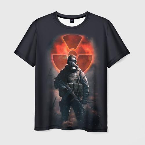 Мужская футболка 3D  Фото 03, Stalker