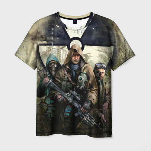 Мужская футболка 3D  Фото 01, Stalker