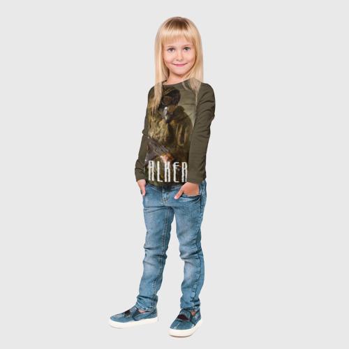 Детский лонгслив 3D Stalker Фото 01