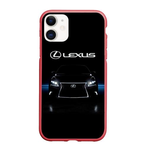 Чехол для iPhone 11 матовый Lexus Фото 01