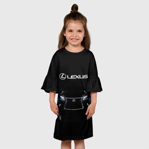 Детское платье 3D  Фото 01, Lexus