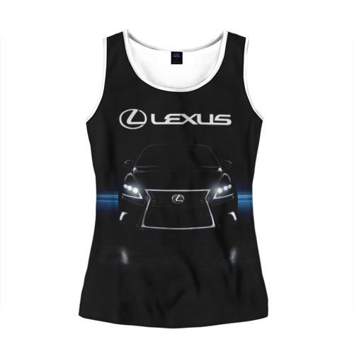 Женская майка 3D  Фото 01, Lexus