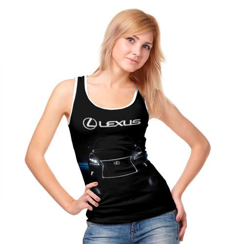 Женская майка 3D  Фото 05, Lexus