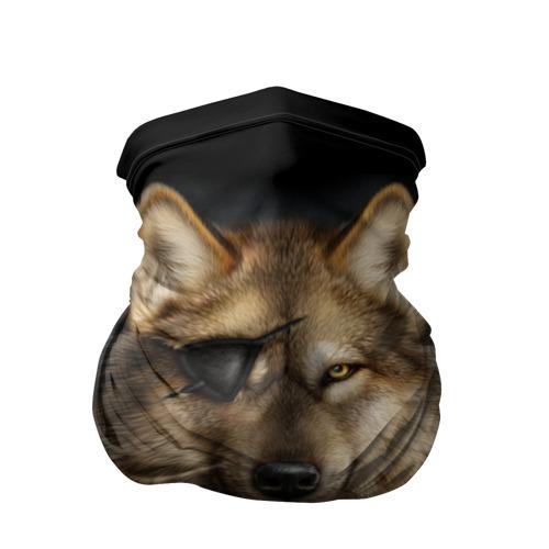 Бандана-труба 3D Морской волк