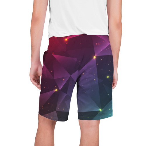 Мужские шорты 3D  Фото 02, Colorful triangles