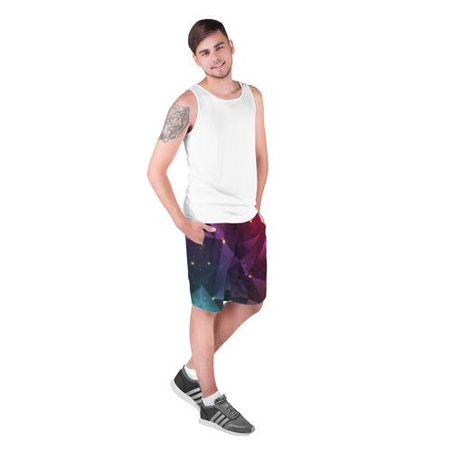 Мужские шорты 3D  Фото 03, Colorful triangles