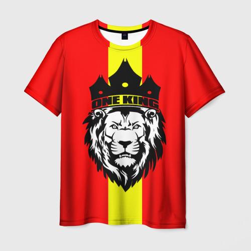 Мужская футболка 3D  Фото 03, One King