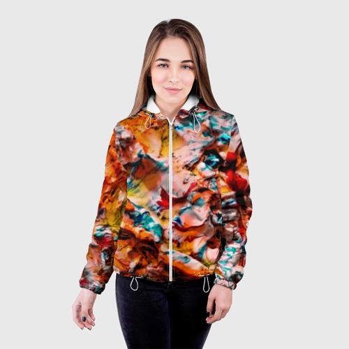Женская куртка 3D  Фото 03, Tie-Dye