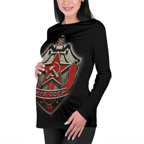 Женский лонгслив 3D для беременных  Фото 01, КГБ