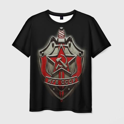 Мужская футболка 3D  Фото 01, КГБ