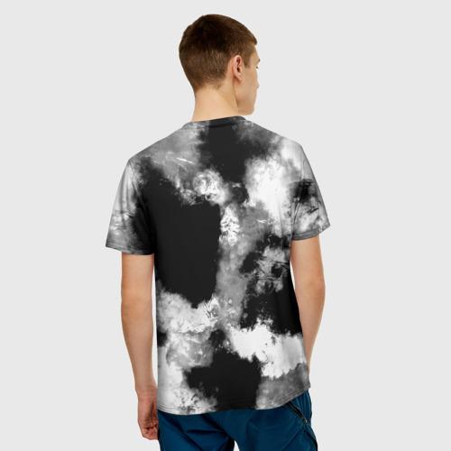 Мужская футболка 3D  Фото 02, Black and White color