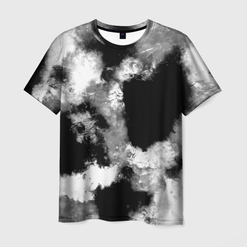 Мужская футболка 3D  Фото 01, Black and White color