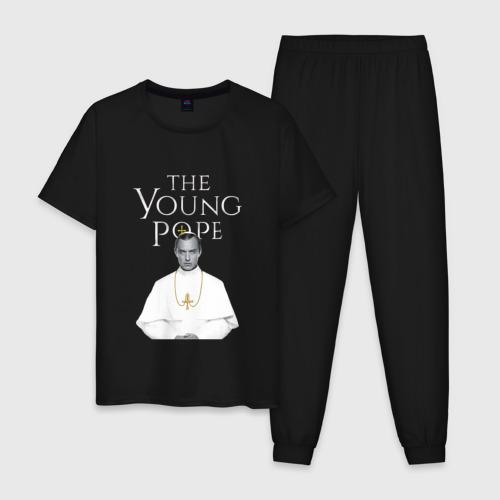 Мужская пижама хлопок Молодой Папа | The Young Pope Фото 01