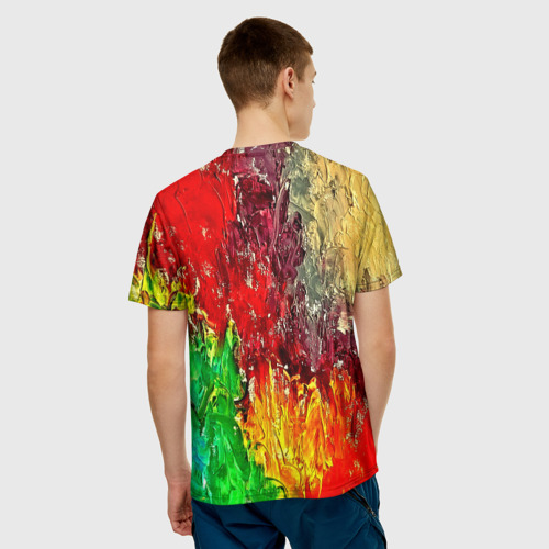 Мужская футболка 3D  Фото 02, Mixcolor
